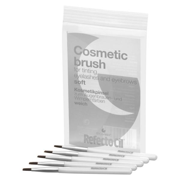 RefectoCil Kosmetikpinsel, weich - 5er Beutel