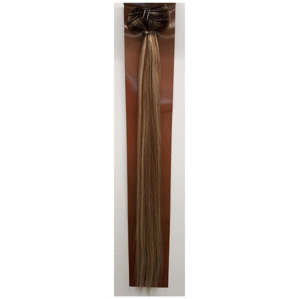 Clip in Hair Extensions Set Farbe 8/60
