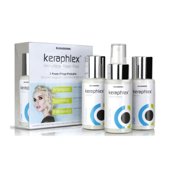 Keraphlex Haarpflege Power Pack 3x50ml