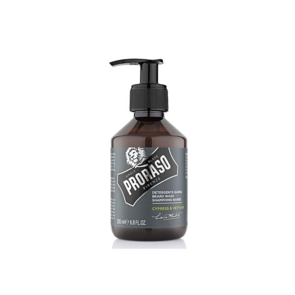 Proraso Bart Shampoo Cypress & Vetyver 200ml