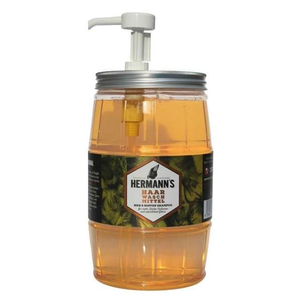 Hermann's Bier und Hopfen Shampoo Fass