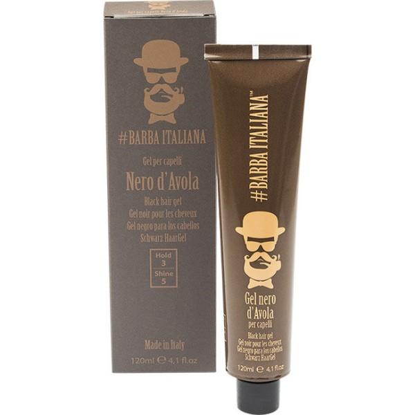 Barba Italiana Nero D´ Avola Black Gel 120 ml