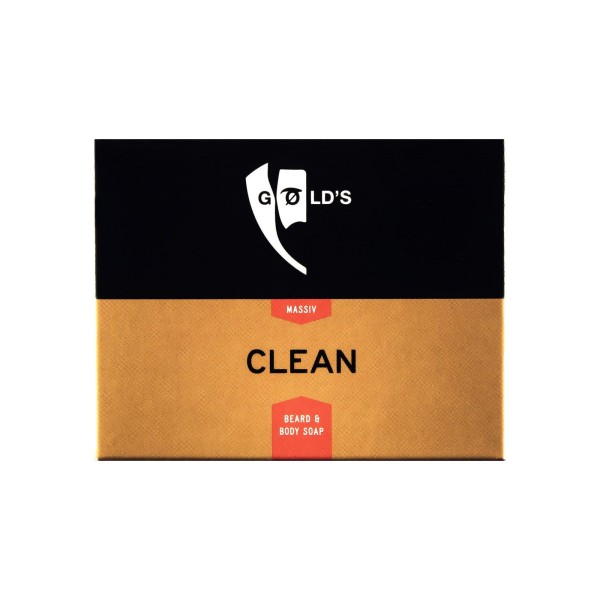 Golds Bartseife Clean 100g