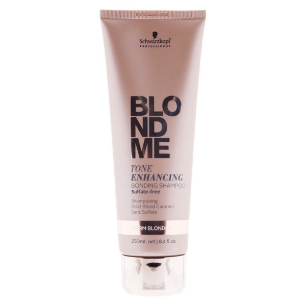 Blondme Tone Enhancing Bonding Shampoo Warm Blond 250ml