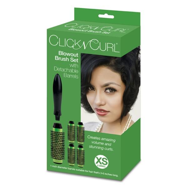 Click N Curl Set Größe XS - 25mm